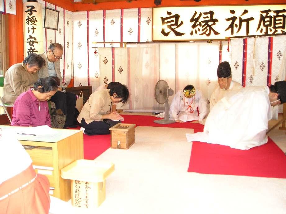 京都地主神社 敬老祭 蓬莱山(宝来山)長寿祈願祝詞