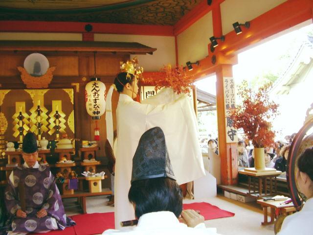 京都地主神社 もみじ祭り