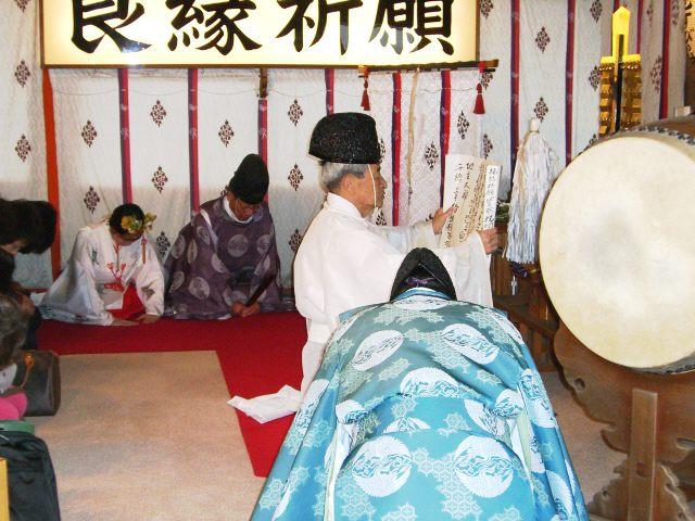 京都地主神社 しまい大国祭 宮司祝詞