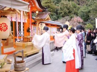 地主神社大祓祭 拝礼