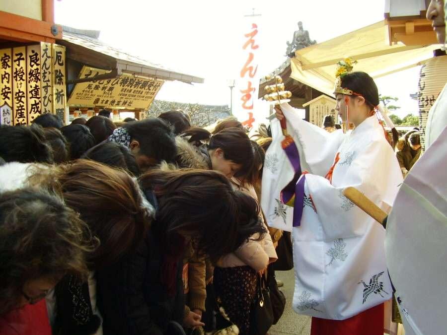 えんむすび初大国祭 巫女 神鈴
