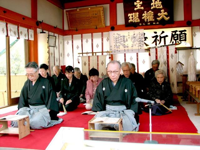 青松会 謡曲「田村」「熊野」