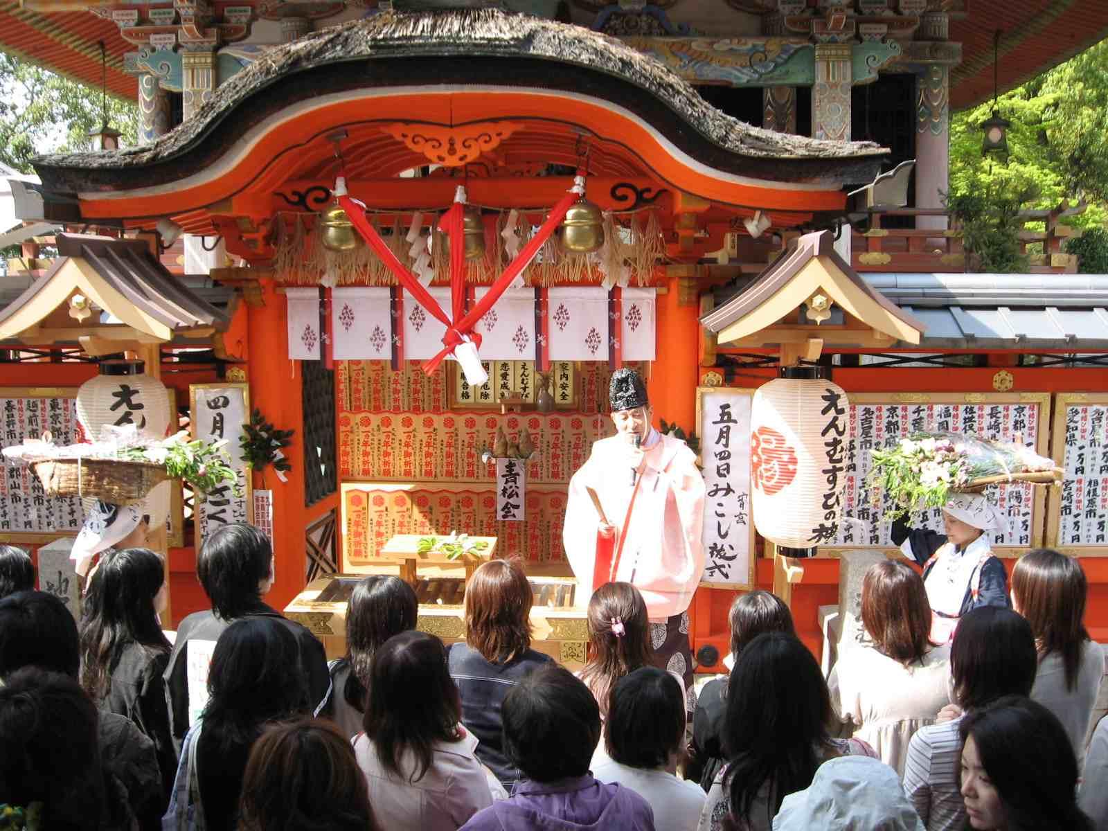 桜祭り 宮司の言葉