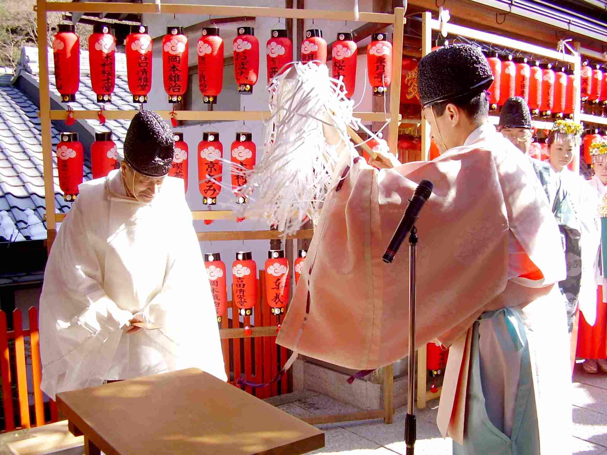 栗光稲荷社 初午祭 お祓い