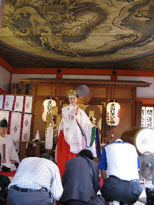 蓬莱山 敬老祭 神鈴の儀