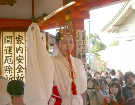 もみじ祭り 神楽 剣の舞
