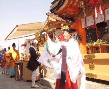 縁結び祈願桜祭り 神鈴の儀